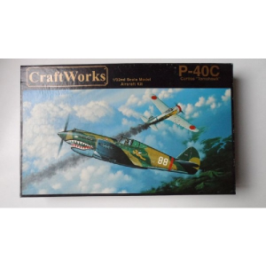 P-40C CURTISS TOMAHAWK CRAFT WORKS