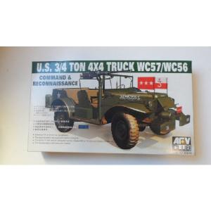 U.S. 3/4 TON 4X4X TRUCK WC57/WC56 AFV
