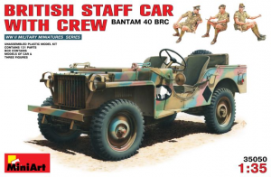 BRITISH STAFF CAR w/CREW