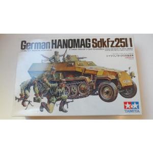 GERMAN HANOMAG SDKFZ 251/1 TAMIYA