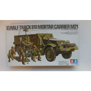 M21  U.S.HALF TRACK 81MM MORTAR CARRIER TAMIYA