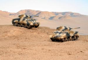 M4A2 SHERMAN III - 2 KITS