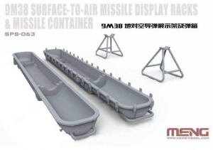 Russian 9M38 Surface-to-air Missile Dispaly Racks & Missile Container