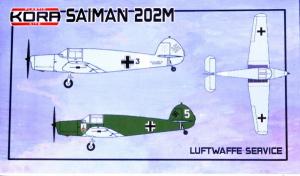 Saiman 202M Luftwaffe Service