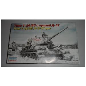 TANK T-34/85 / W D - 5T GUN ESATERN