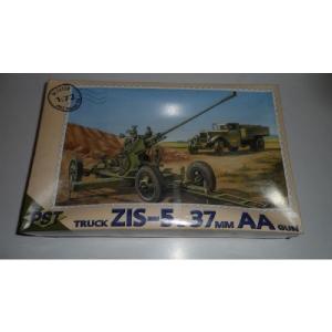 TRUCK ZIS-5 & 37MM AA GUN PST