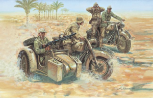 WWII GERMAN MOTORCYCLES B