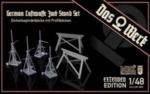 German Luftwaffe Jack Stand Set