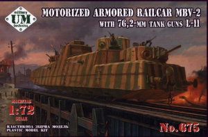 Motorized Armored Railcar MBV-2