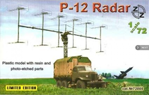 P-12 SOVIET RADAR VEHICLE, PLASTIC/RESIN/PE