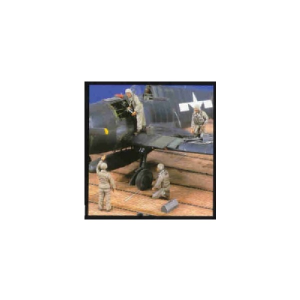 USN WWII FLIGHT DECK CREW