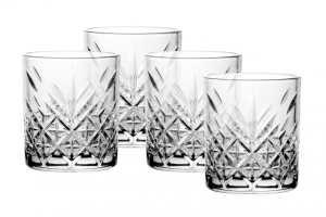 Set 4 Bicchieri Timeless Long Drink in vetro