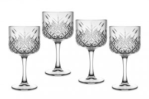 Set 4 Calici in vetro Timeless Gin & Tonic CL 55 cm.19,8h diam.10,8