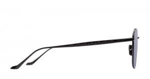 Italia Independent - Occhiale da Sole Unisex, Damien Laps Collection, Matte Black/Full Grey 005LP C52