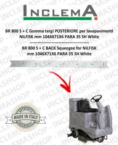 BR 800 S + C Gomma tergi POSTERIORE per lavapavimenti NILFISK