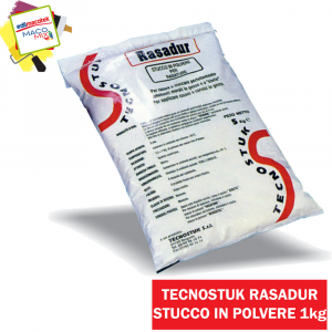 Tecnostuk stucco Rasadur in polvere bianco 1kg