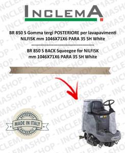 BR 850 S (Till s/n 1819567) Gomma tergi POSTERIORE per lavapavimenti NILFISK
