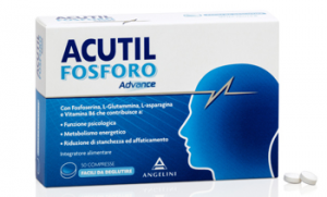 ACUTIL ADVANCE COMPRESSE A BASE DI FOSFOSERINA IN CASO DI STANCHEZZA