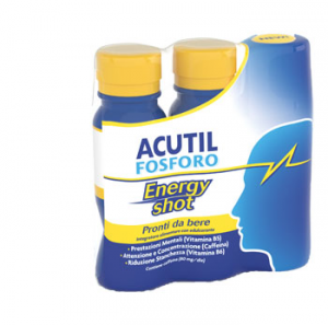ACUTIL FOSFORO ENERGY SHOT -  BASE DI CAFFEINA PRONTO DA BERE