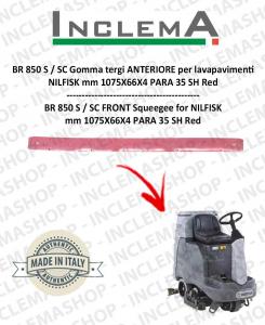 BR 850 S / SC (From s/n 1819568) Gomma tergi ANTERIORE per lavapavimenti NILFISK