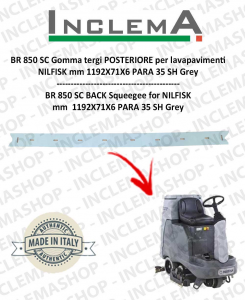 BR 850 SC Gomma tergi POSTERIORE per lavapavimenti NILFISK
