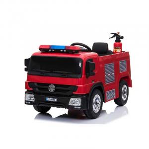 Macchina Auto Elettrica per Bambini Camion dei Pompieri