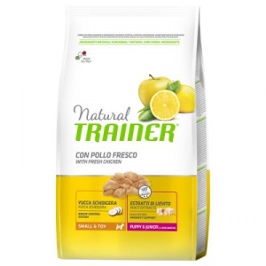 Trainer Natural Puppy&Junior - Small&Toy con Pollo Fresco