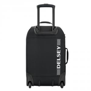 Delsey - Tramontane - Valigia trolley da cabina e zaino 2 ruote 55 cm poliestere TSA nero cod. 2450720
