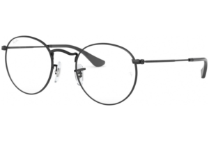 Ray Ban - Occhiale da Vista Unisex, Round Metal Optics, Matte Black RX3447 2503 C47