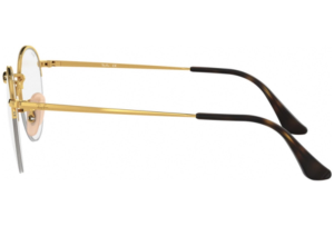 Ray Ban - Occhiale da Vista Unisex, Round Gaze, Matte Gold RX3947 2500 C51