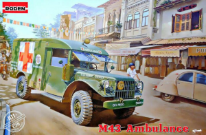 Dodge M43 3/4 ton 4x4 Ambulance Truck