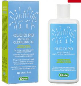 Olio di Pid Azione D'Urto per Pidocchi 200ml Derbe