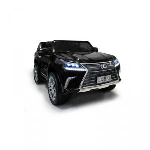Macchina Auto Elettrica per Bambini LEXUS LX570 SUV 2 POSTI NERA