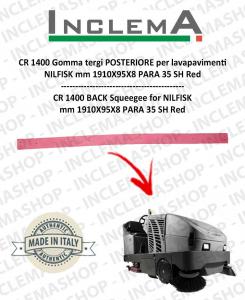CR 1400 Gomma tergi POSTERIORE per lavapavimenti NILFISK