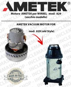 829 I  (vecchio modello) MOTORE AMETEK aspirazione per aspirapolvere e aspiraliquidi WIRBEL