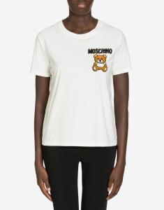 T-shirt in jersey con Moschino Teddy Bear