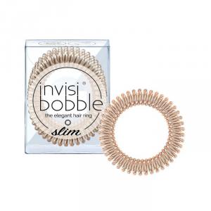 Invisibobble Hair Ring Slim Bronze Me Pretty 3 Parti