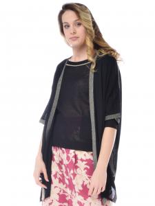 63e5d971d61b Cardigan donna Silvian Heach modello kimono nero