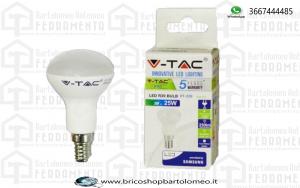 LED Lampadina - SAMSUNG CHIP 3W E14 R39 Plastica 6400K
