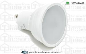 Lampadina LED faretto 5W GU10 SMD Plastica Bianca Bianco