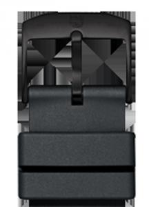 Cinturino in gomma PU - 19 mm