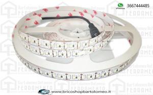 Strisce LED 3014 60 LEDs Bianco freddo IP20 bobbina 5mt