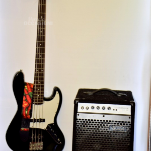 Basso Elettrico Sx Standard Series+amplificatore Warwick 20w
