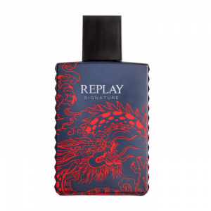 Replay Signature Red Dragon For Him Eau De Toilette Spray 100ml