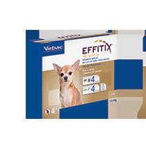 Antiparassitario Effitix Cani 1,5-4 kg