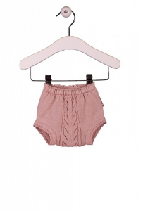 Pantaloncino rosa scuro a pannolino