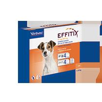 Antiparassitario Effitix Cani 4-10 kg
