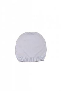 Cappello basico di lana bianco