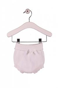 Pantaloncino bianco a pannolino con fiocco