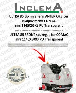 ULTRA 85 B/BS Gomma tergi ANTERIORE per lavapavimenti COMAC
